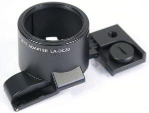 Canon LA-DC20 Conversion Lens Adapter